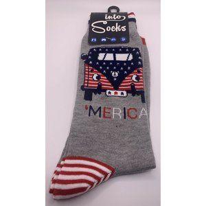 Into Socks Men's Socks 'Merica 7-12 NWT